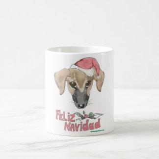 Poco Feliz Navidadのマグ コーヒーマグカップ