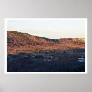 Pocono山の写真 ポスター