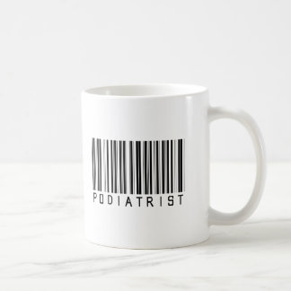 Podiatristのバーコード コーヒーマグカップ