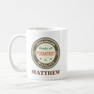 Podiatristの名前入りなオフィスのマグのギフト コーヒーマグカップ