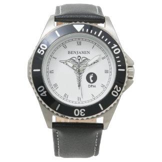 Podiatristの名前入りな名前 腕時計