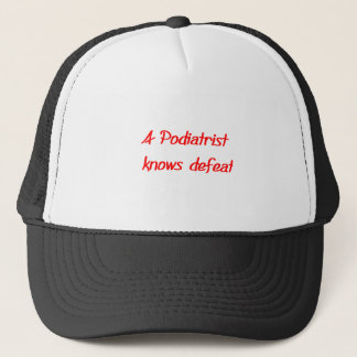 Podiatristの帽子 キャップ