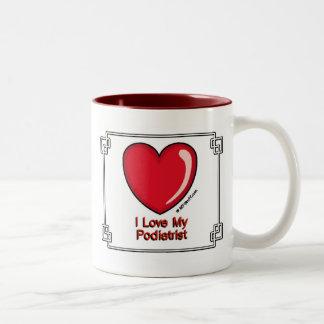 Podiatrist ツートーンマグカップ