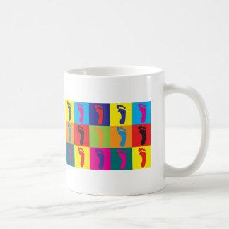 Podiatryのポップアート コーヒーマグカップ