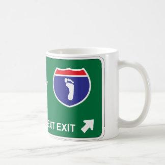 Podiatryの次の出口 コーヒーマグカップ