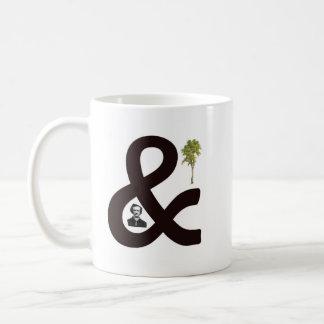 Poeおよび木 コーヒーマグカップ