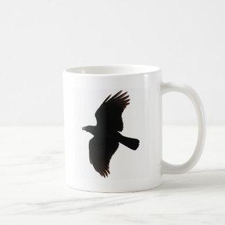 Poeによるカラス コーヒーマグカップ