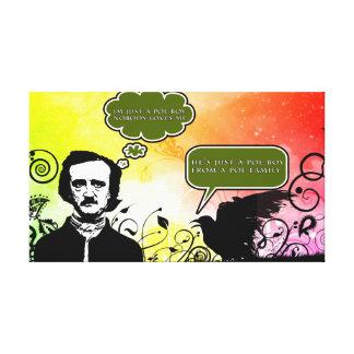 Poeの男の子 キャンバスプリント