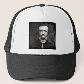 Poeの白黒グランジ キャップ
