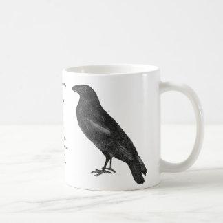 """Poeの""""ワタリガラス""""のマグ コーヒーマグカップ"""