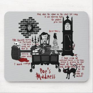 「Poe狂気」の(版2)マウスパッド マウスパッド