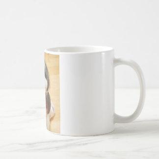 Poe-子犬の女の子 コーヒーマグカップ