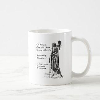 Poe: 赤い死 コーヒーマグカップ