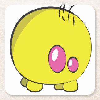 Pogo O.oのカスタムで黄色いコースター スクエアペーパーコースター