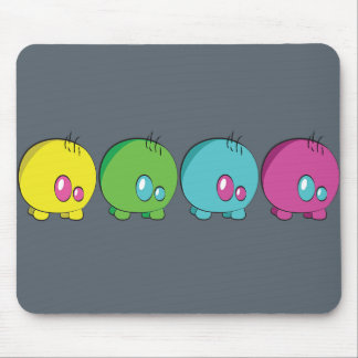 Pogo O.oのカスタムな多色刷りのマウスパッド マウスパッド