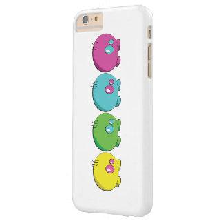 Pogo O.oの多色刷りの電話箱 Barely There iPhone 6 Plus ケース