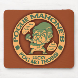 Pogueの幸運なThoins マウスパッド