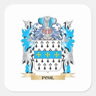 Pohlの紋章付き外衣-家紋 スクエアシール