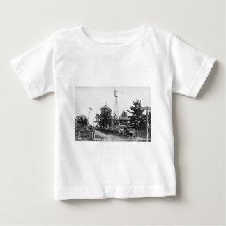 POINTEの補助のバークミシガン州ルイPesha ベビーTシャツ
