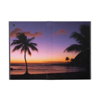 Poipuの日没- Poipuのビーチ-カウアイ島-ハワイ iPad Mini ケース
