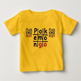 PokemonGoのベビーの罰金のジャージーの黄色いTシャツ ベビーTシャツ