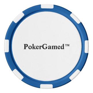 PokerGamed™のポーカー用のチップ カジノチップ