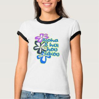 Pokiiの花Galsのティー Tシャツ