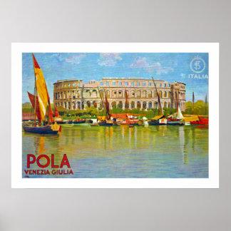 Polaの~ Venezia Giulia (プーラ) ポスター