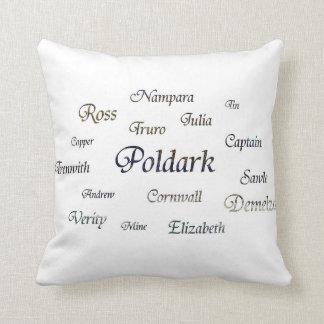 Poldarkの名前 クッション