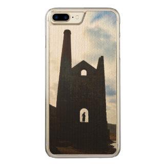 Poldarkの国鉱山はコーンウォールイギリスを台無しにします Carved iPhone 8 Plus/7 Plus ケース