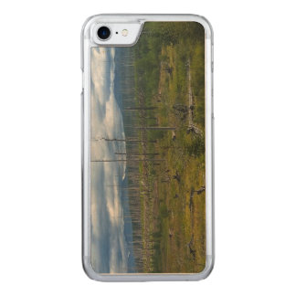Polebridge区域の焼損のグレーシャー国立公園 Carved iPhone 8/7 ケース