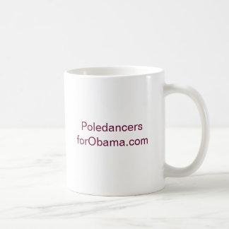 PoledancersforObama.com コーヒーマグカップ