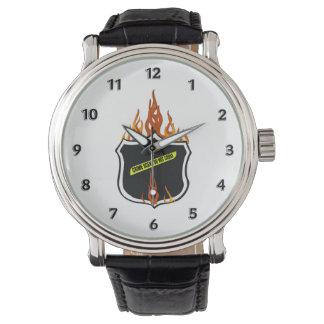 Police Flaming Badge 腕時計