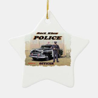 Police_Officer_1951 セラミックオーナメント