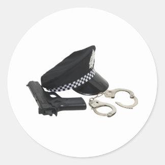 PolicemanKit081609 ラウンドシール