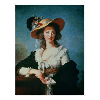 Polignacの公爵夫人のポートレート ポストカード