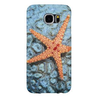Polipsの珊瑚のヒトデ Samsung Galaxy S6 ケース