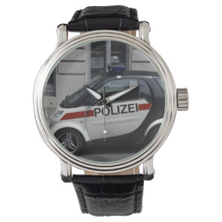 Polizeiの頭が切れるな自動車 腕時計