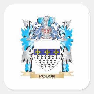 Polonの紋章付き外衣-家紋 スクエアシール