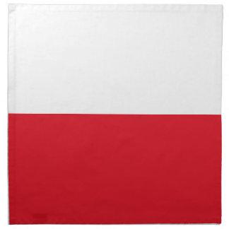 Polonianの旗 ナプキンクロス