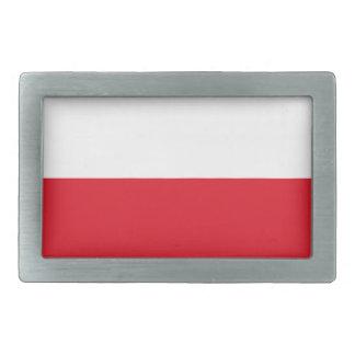 Polonianの旗 長方形ベルトバックル