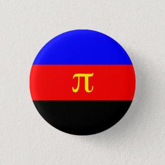 Polyamoryの旗ボタン 3.2cm 丸型バッジ