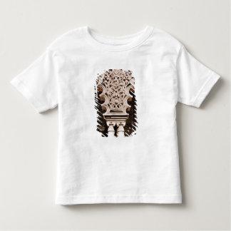 polylobeの1つの詳細はからアーチ形になります トドラーTシャツ