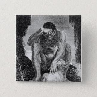 Polyphemusからシクロプスを脱出しているウリッセース 缶バッジ