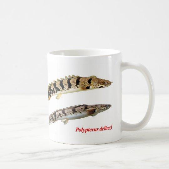 Polypterus delheziのマグカップ コーヒーマグカップ