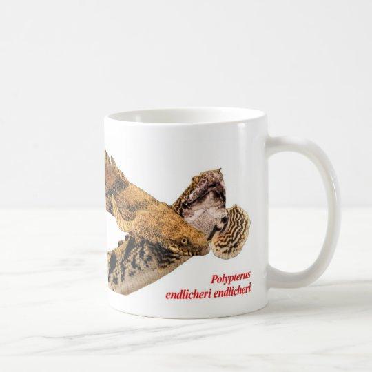 Polypterus endlicheri endlicheriのマグカップ,No.02 コーヒーマグカップ
