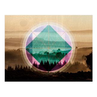 Polyscapeの景色 ポストカード