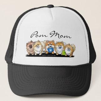 Pomのお母さんPOMパレードの帽子 キャップ