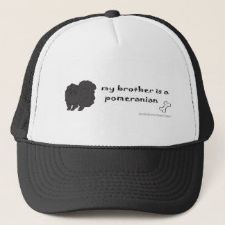 PomeranianBlkBrother キャップ