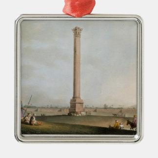 Pompeyの柱は、「エジプトの意見」からの14を、eめっきします メタルオーナメント